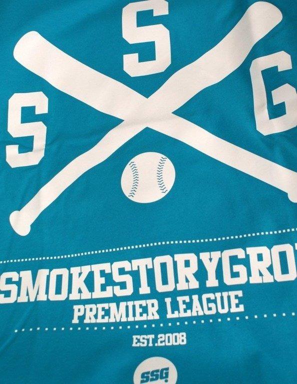 SSG SMOKE STORY GROUP KOSZULKA BASEBALL BLUE
