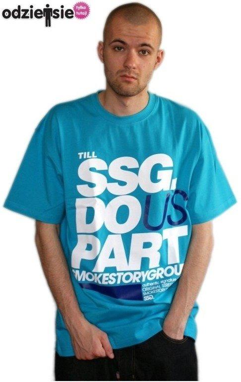 SSG SMOKE STORY GROUP KOSZULKA PART BLUE