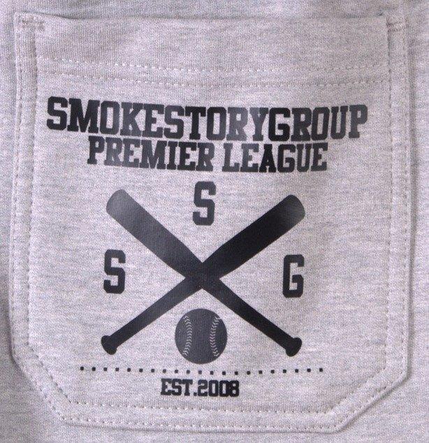 SSG SMOKE STORY GROUP SPODNIE DRESOWE BASEBALL MELANGE