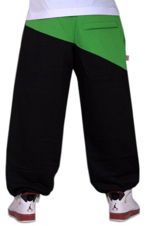 SSG SPODNIE DRESOWE DOUBLE BLACK-GREEN
