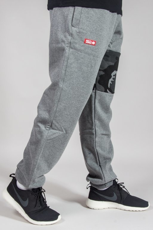 SSG SWEATPANTS PREMIUM REGULAR MORO PART GREY CAMO GREY