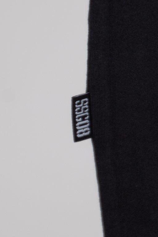 SSG T-SHIRT CUT FRONT BACK WHITE-BLACK