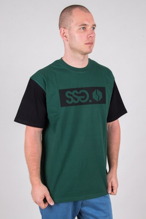 SSG T-SHIRT SLEEVE SSG LOGO GREEN