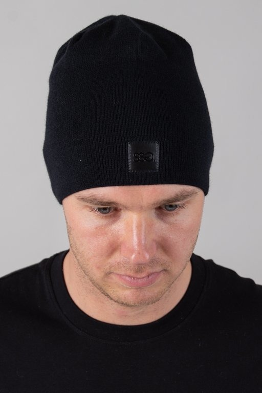 SSG WINTER CAP SKÓRKA BLACK
