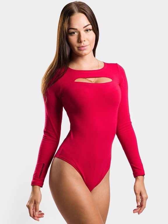 STOPROCENT BODY WOMAN CUT RED