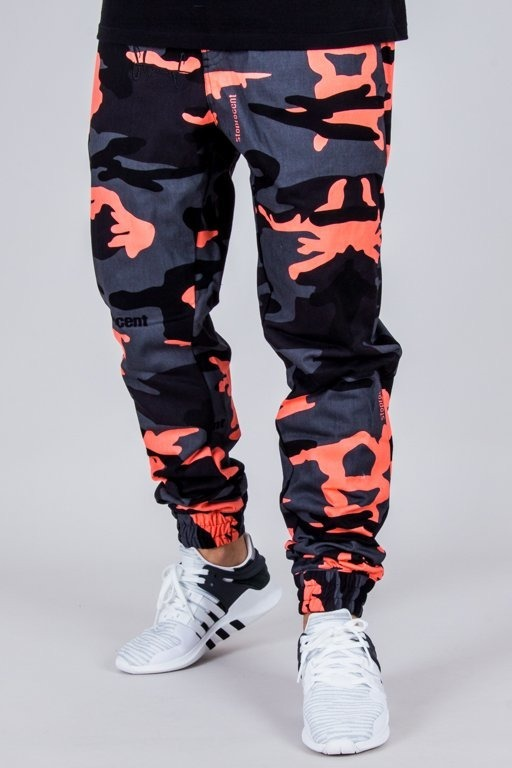 STOPROCENT PANTS CHINO JOGGER CLASSIC CAMO CORAL