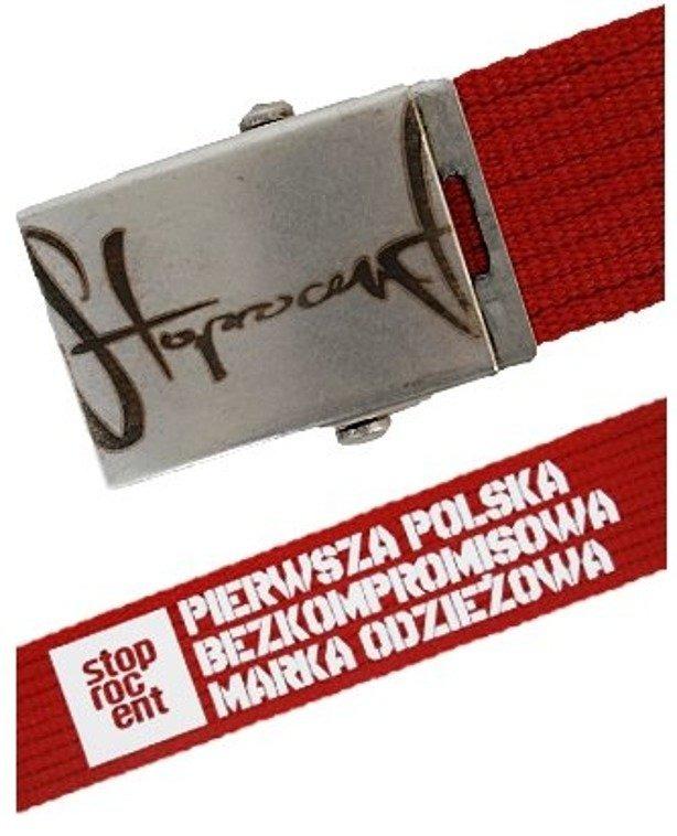 STOPROCENT PASEK PARCIARNY CZERWONY 115 CM
