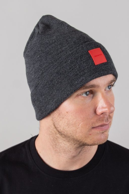 STOPROCENT WINTER CAP CUBE GREY