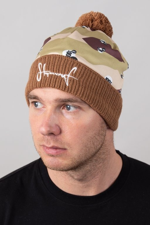 STOPROCENT WINTER CAP DESERT BROWN