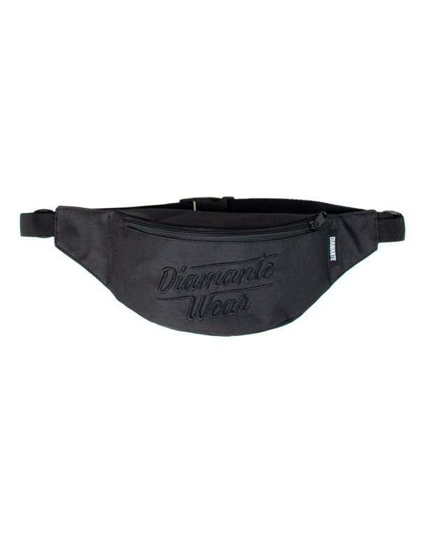 Saszetka Diamante Wear Logo Big Black-Black