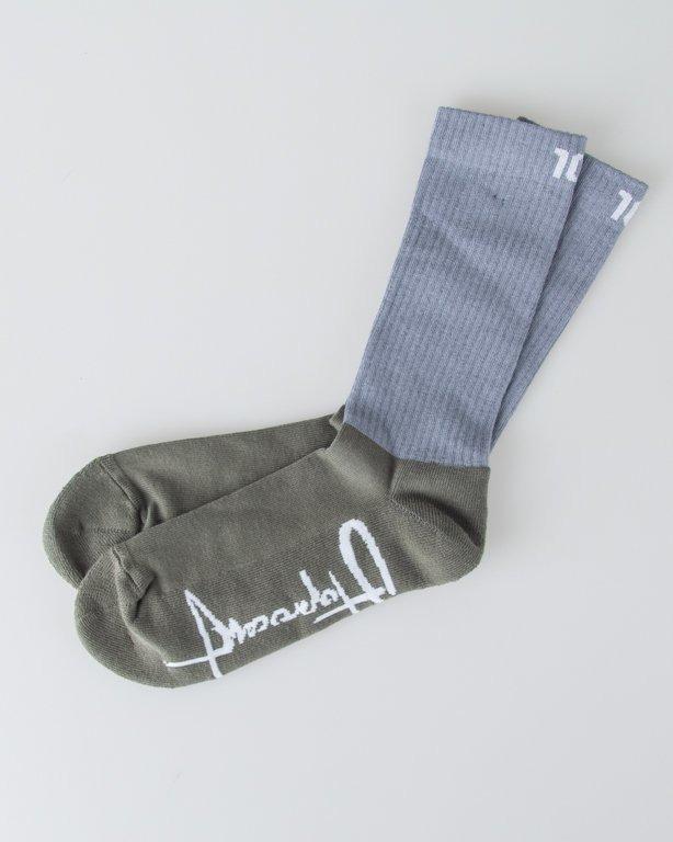 Skarpetki Stoprocent Big Tag16 Grey-Khaki