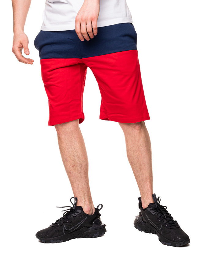 Spodenki Dresowe Mass Separate Navy-Red