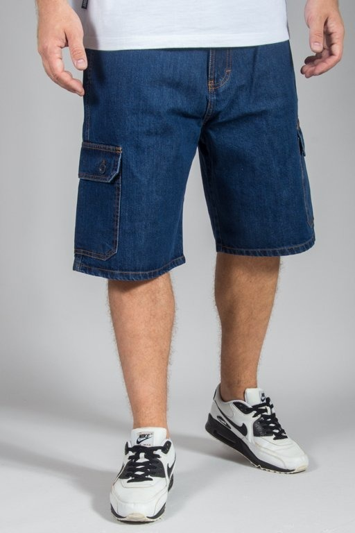 Spodenki SSG Jeansowe Bojówki Jeans Moro Medium