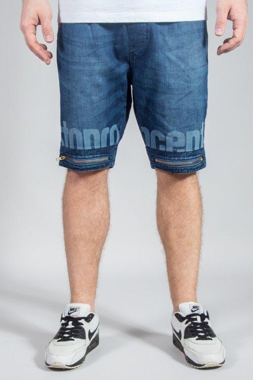 Spodenki Stoprocent Jeans Joggy Blue
