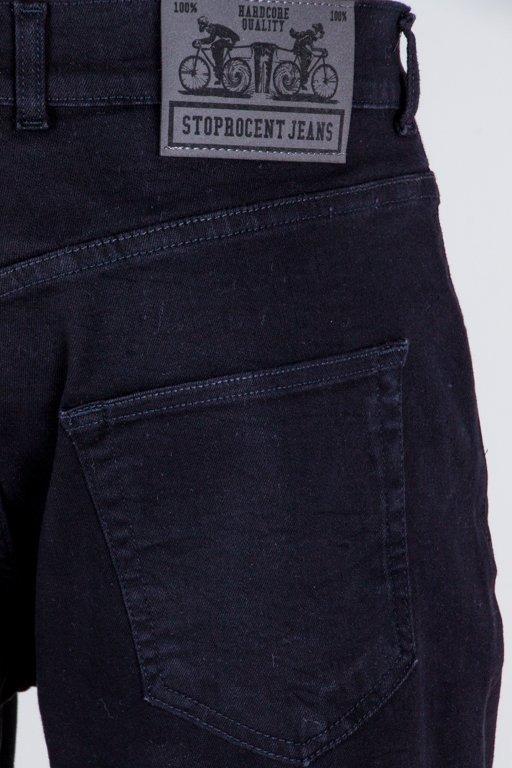 Spodenki Stoprocent Jeansowe Hke Black