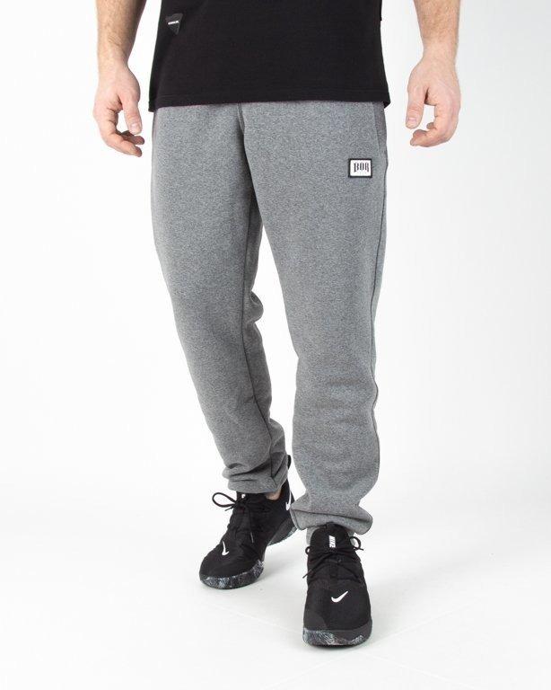 Spodnie Bor Dresowe Bor New Grey