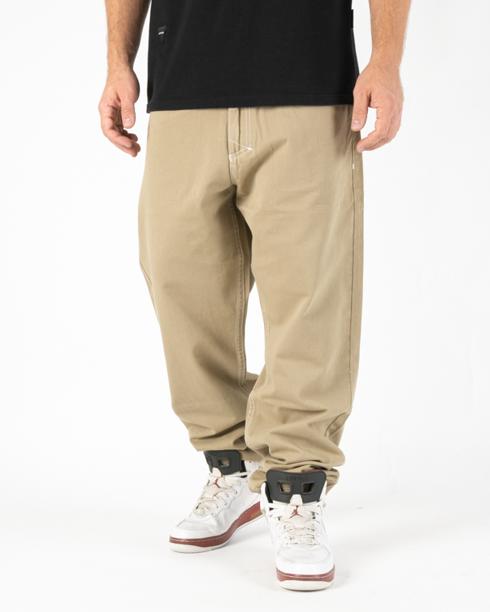 Spodnie Chino Baggy Fit Mass Craft Beige