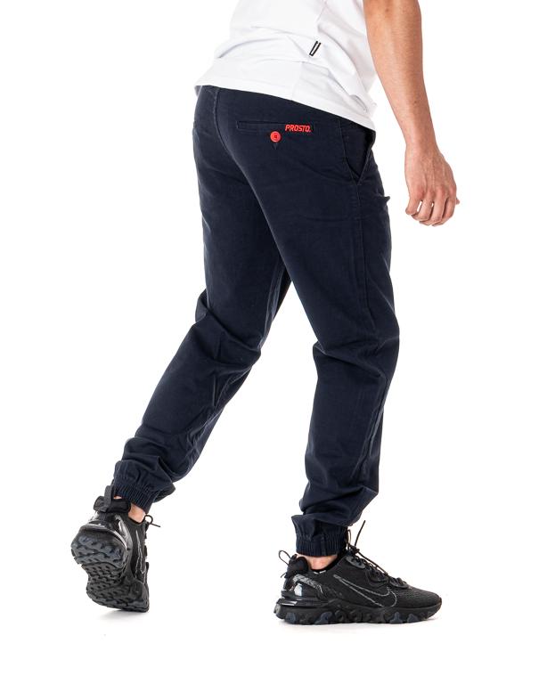 Spodnie Chino Jogger Prosto Call Navy