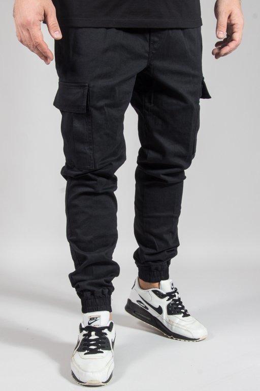 Spodnie Diamante Wear Chino Jogger Rm Hunter Black