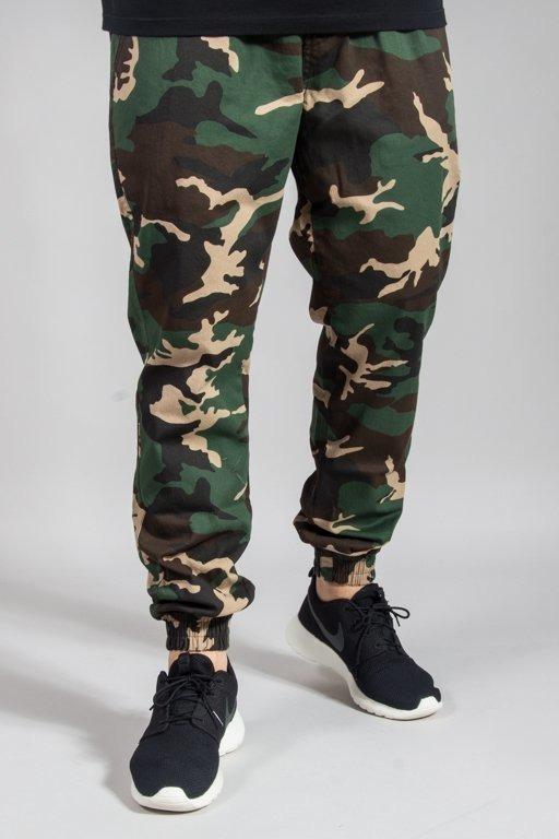 Spodnie Diamante Wear Chino Jogger Woodland Camo