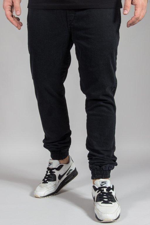 Spodnie Diamante Wear Jeansy Jogger Rm Black