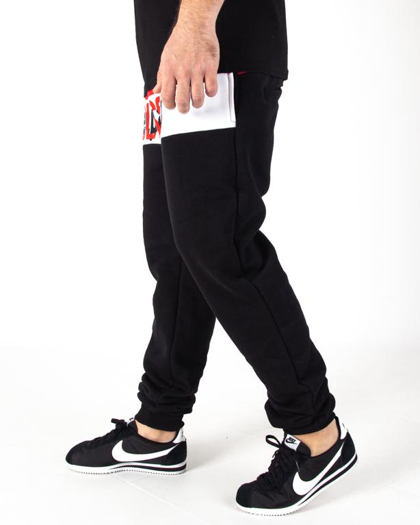 Spodnie Dresowe El Polako Fit Half Classic Black