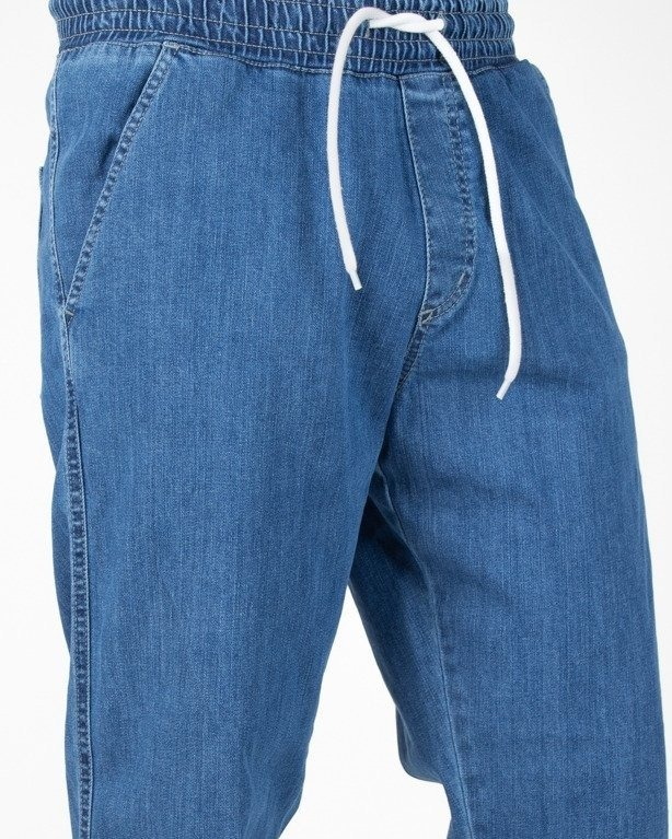 Spodnie El Polako Jeans Jogger Regular Handmade Light