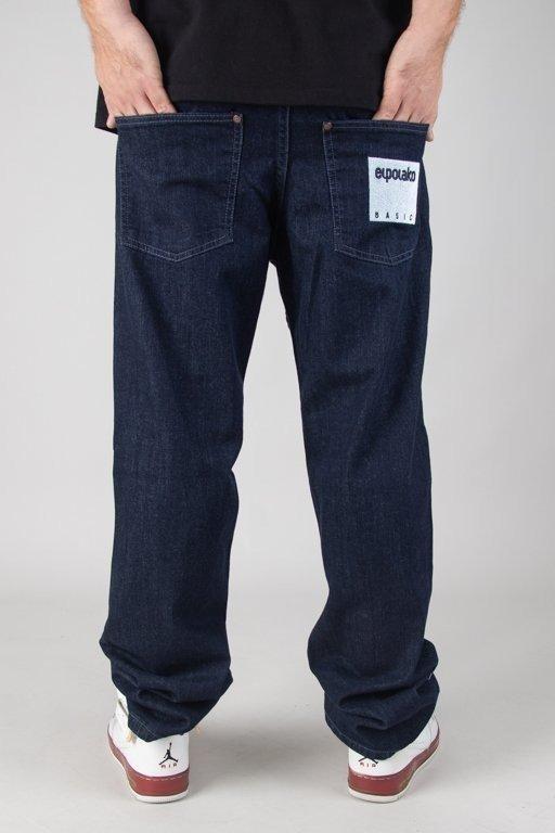 Spodnie El Polako Jeansy Regular Box Style Dark
