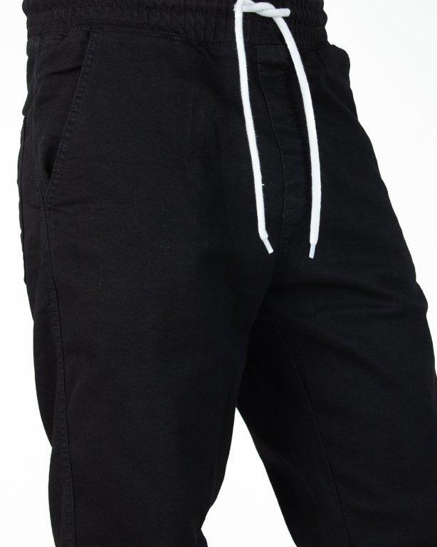 Spodnie El Polako Joggery Jeansowe Slim New Box Black