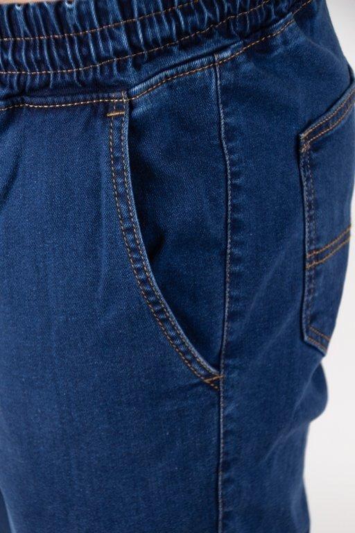 Spodnie Elade Jeansy Jogger New Dark Blue