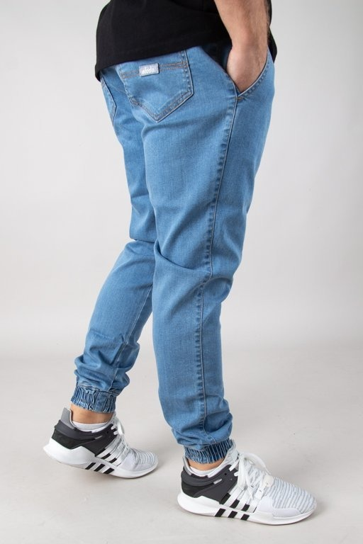 Spodnie Elade Jeansy Jogger New Light Blue