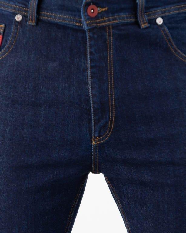Spodnie Elade Jeansy Pocket Haft Dark