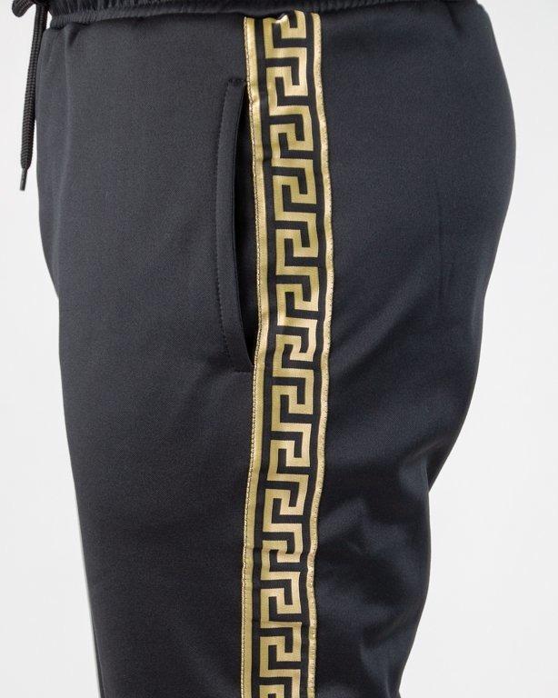Spodnie Ganja Mafia Dresowe Kalion Tape Black