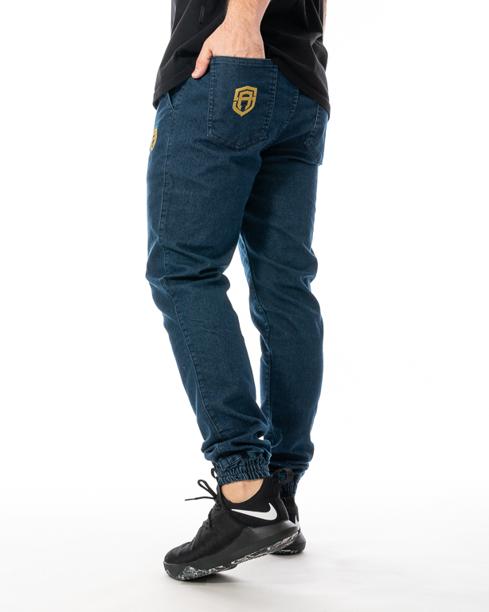 Spodnie Jeans Jogger Street Autonomy Popular II Ciemnoniebieskie