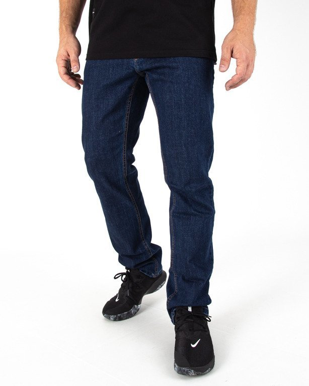 Spodnie Jeans Ssg Classic Haft Slim Medium
