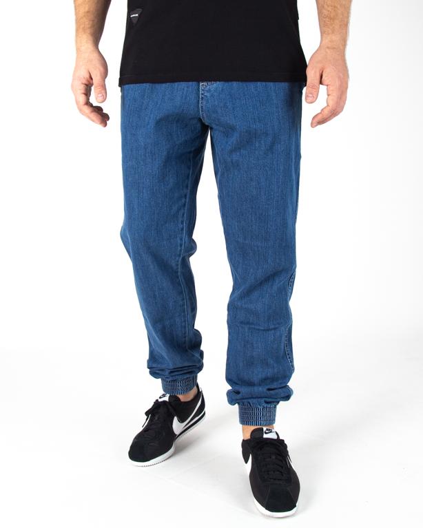 Spodnie Jogger El Polako Slim Jeans Z Gumą Ssp Light