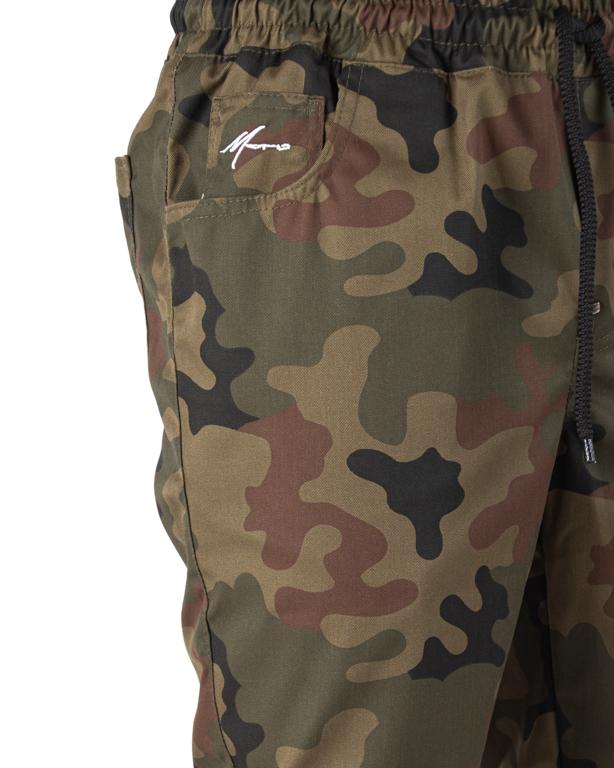 Spodnie Jogger Moro Mini Paris Pocket Camo Tkanina