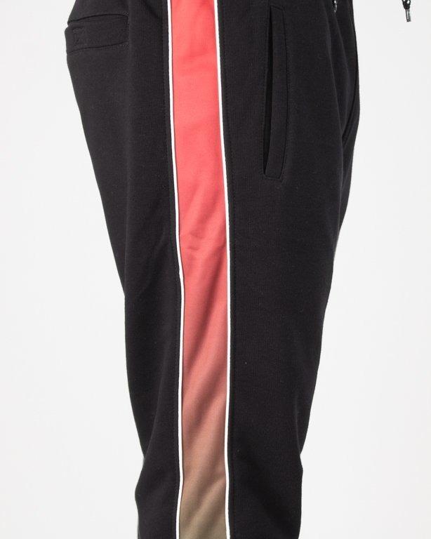 Spodnie Lucky Dice Dresowe Ld Strip 18 Black-Red