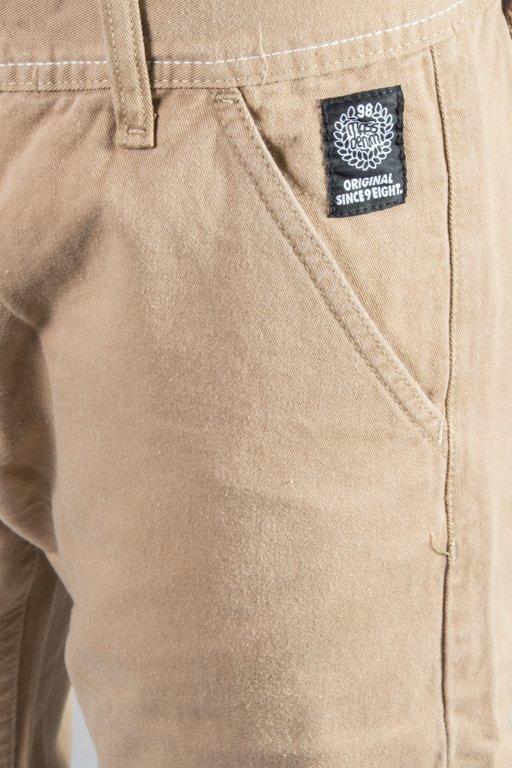 Spodnie Mass Chino Base 14 Fw Haft Beige