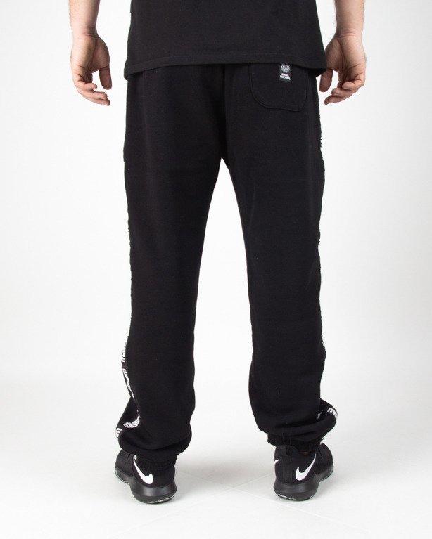 Spodnie Mass Dresowe Line Black