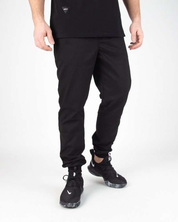 Spodnie Moro Chino Jogger Mini Paris Pocket Black