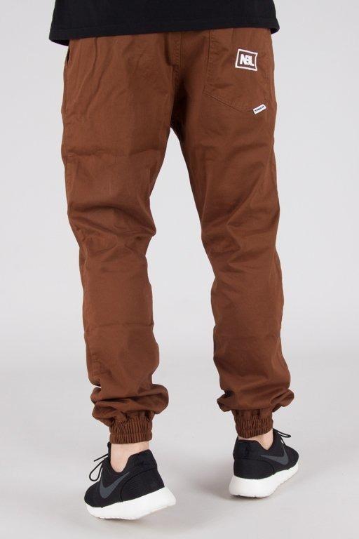 Spodnie New Bad Line Chino Jogger Icon Brown