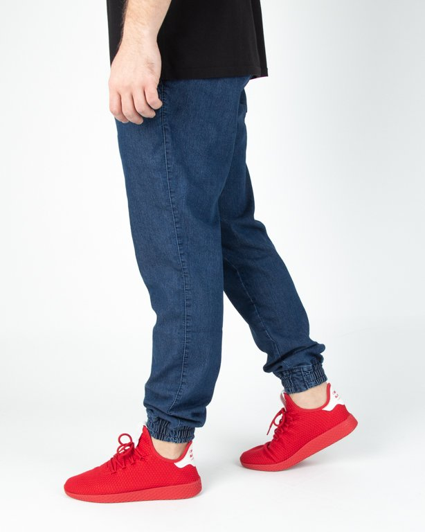 Spodnie New Bad Line Jeansy Jogger Icon Dark