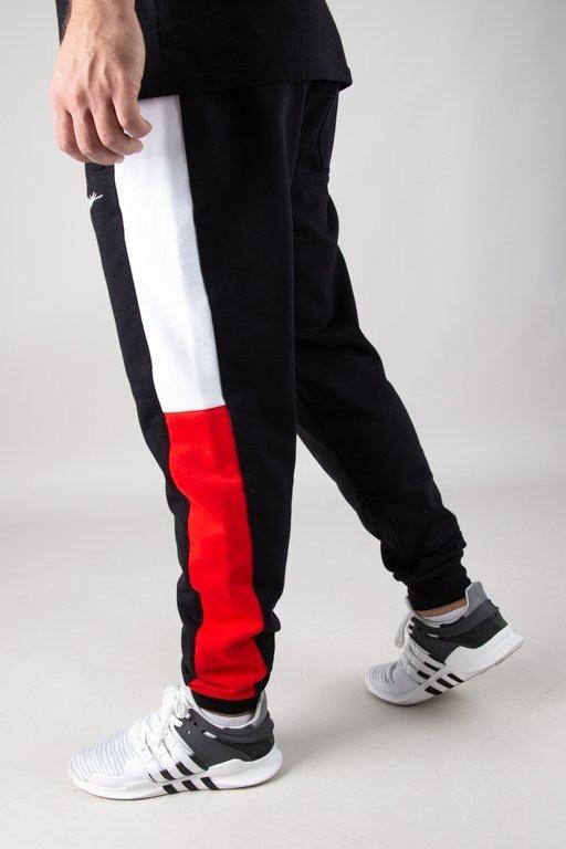 Spodnie Patriotic Dresowe Tag Slices  Black