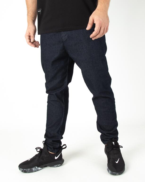 Spodnie Patriotic Jeans Futura Pelt Pin Roll Navy