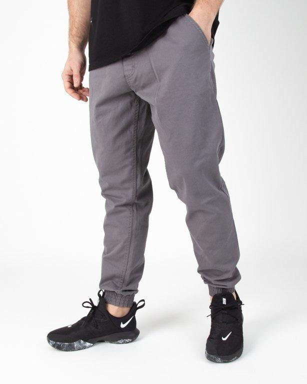 Spodnie SSG Chino Jogerry Slim Klasyk Grey