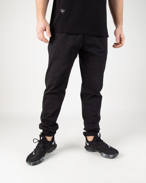 Spodnie SSG Chino Jogger Slim Klasyk Black