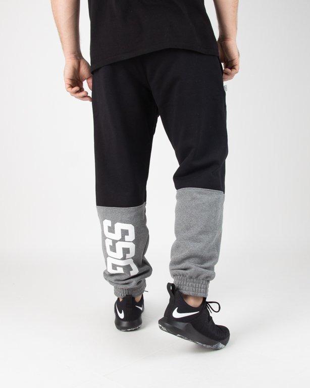 Spodnie SSG Dresowe Jogger Double SSG Black