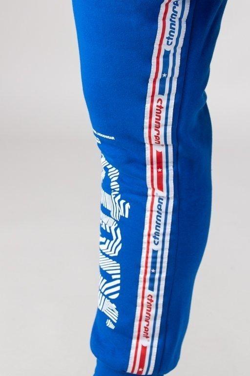 Spodnie Stoprocent Dresowe Wavy Blue