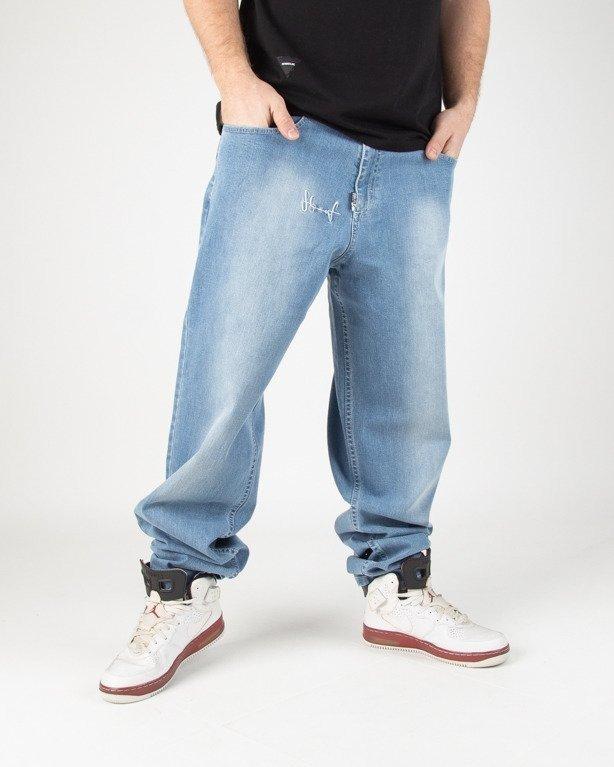 Spodnie Stoprocent Jeansy Baggy Tag Blue